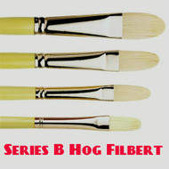Pro Arte Series B Hog Brush - Filbert