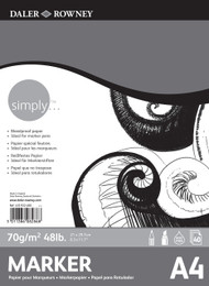Daler Rowney Simply Marker Pad - A4