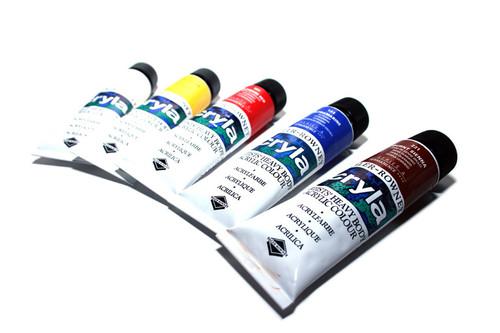 Daler Rowney CRYLA Artists' Acrylic 75ml tubes