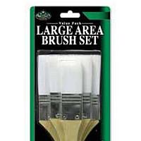 Royal & Langnickel Large Area Brush Set - White Taklon