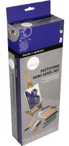 Daler Rowney Simply Sketching Mini Easel Set