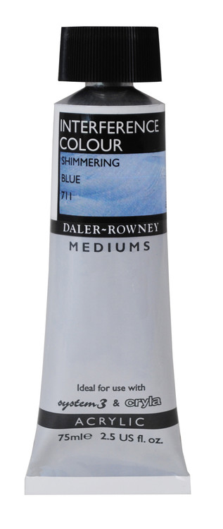 Daler Rowney Interference Medium - Shimmering Blue