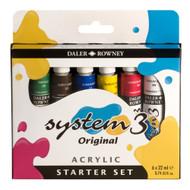 Daler Rowney System 3 Acrylic Starter Set (50% OFF)
