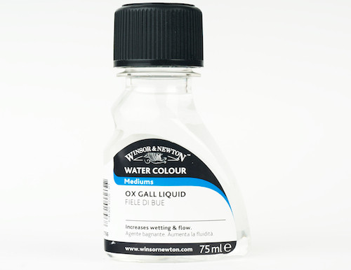 Winsor & Newton Water Colour Mediums - Ox Gall Liquid
