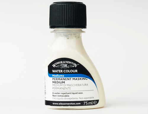 Winsor & Newton Water Colour Mediums - Permanent Masking Medium