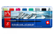Caran d'ACHE GOUACHE STUDIO – Assortment of 8 colour tablets