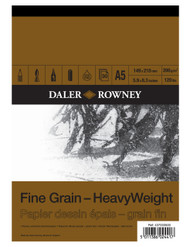 Daler Rowney HeavyWeight Pads - Fine Grain