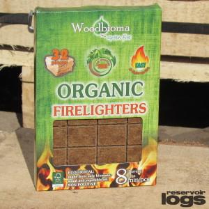 organic firelighters from reservoir logs 32 pieces