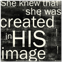 She Knew. . . His Image - Cards