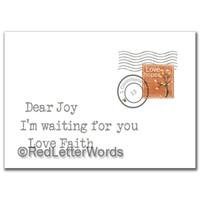 Letter Joy