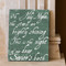 Pine Antique Calligraphy 11x14 Cafe Mount