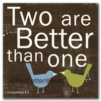 Two Are Better Than One - Cards