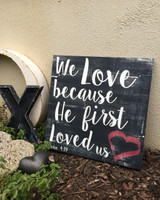 1 John 4:19 - We Love