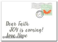 Letter Faith 2