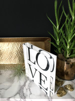LOVE - 6x6 Acrylic Block