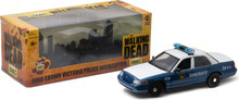 1:18 The Walking Dead (2010-15 TV Series) - Rick and Shane's 2001 Ford Crown Victoria Police Interceptor
