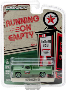 1:64 Running on Empty Series 1 - 1967 Dodge D-100 Sweptside - Texaco