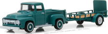 1:64 Hitch & Tow Series 13 - 1954 Ford F-100 and Utility Trailer