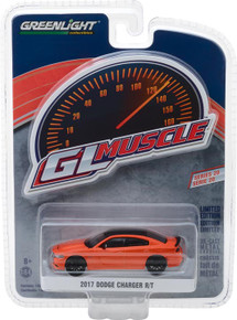 1:64 GreenLight Muscle Series 20 - 2017 Dodge Charger R/T - Go Mango
