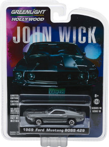 1:64 Hollywood - John Wick (2014) - 1969 Ford Mustang BOSS 429