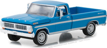 1:64 1970 F-100 Explorer Special (Long Bed) - Grabber Blue (Hobby Exclusive)