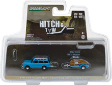 1:64 Hitch & Tow Series 14 - 1961 Volkswagen Type 3 Squareback with Teardrop Trailer