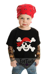 Pirate Skull Tattoo Tee