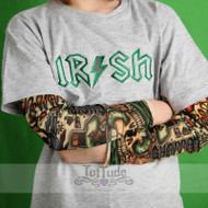 Irish St. Patricks Day Tattoo Sleeve Shirt