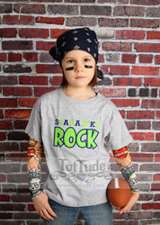 Seahawks Rock Shirt with Tattoo Sleeves