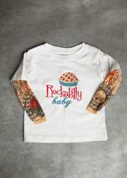 Rockabilly Baby Tattoo Sleeve Shirt