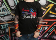 Rock Birthday Tattoo Sleeve Shirt