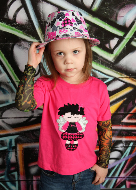 Punk Rock Fairy Tattoo Sleeve Shirt