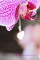 10mm Breast milk heart sterling silver backed