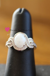Tangled with Love  Sterling Silver (Ring 1)