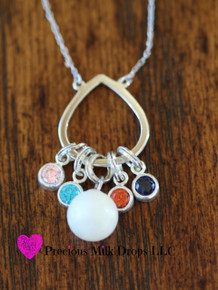 NEW! Drops of Love Sterling sliver Grow with Me Necklace