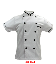 Chef Jacket White With Black Tipping(Young Cutting)