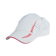 Ready Stock Base Ball Cap White / Red  CP 1800