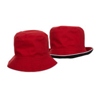 Ready Stock Fisherman Hat Red / Black  FH 0105