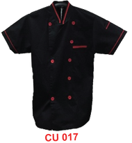 Black Jacket with Red Tipping (Young Cutting)