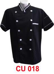 Black Jacket with White Tipping (Young Cutting)