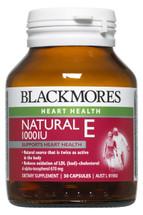 Blackmores Natural Vitamin E 1000 iu