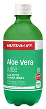 NutraLife Organic Aloe Vera + Active Manuka Honey Juice