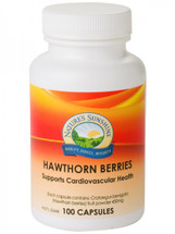 Natures Sunshine Hawthorn Berries - 100 Capsules