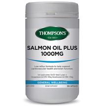 Thompsons Salmon Oil Plus 1000mg  - Capslules