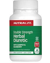 Nutralife Herbal Diuretic Double Strength Formula capsules