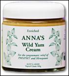Anna's Wild Yam Cream
