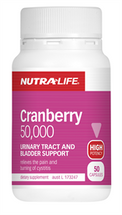 NutraLife Cranberry 50000