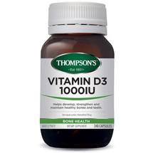 Thompson's Vitamin D3 1000IU  - 240 Capsules