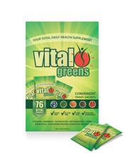 Vital greens Convenient Travel Sachets - 30 x 10g Sachets
