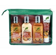 dr.organic Argan Oil Travel Pack 4 x 75ml